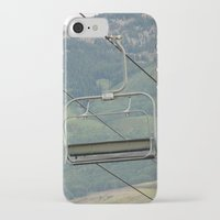 ski iPhone & iPod Cases featuring ski by Lexi *