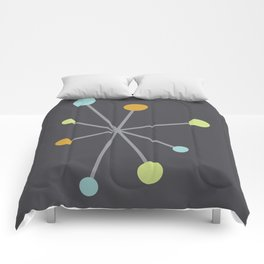 Mid Century Modern Atomic Age Pattern Comforters