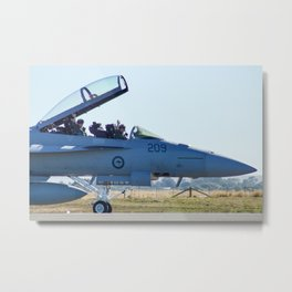 Avalon Airshow - RAAF FA-18 Hornet Metal Print