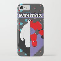 baymax iPhone & iPod Cases featuring BayMax by Brieana