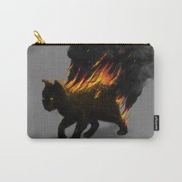 This Cat Is On Fire! Carry-All Pouch