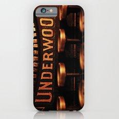 Underwood No. 5 Slim Case iPhone 6s