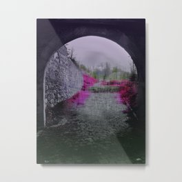 End of a tunnel Metal Print