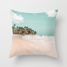 Palm Island #photography #nature Throw Pillow