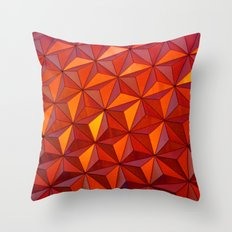 Geometric Epcot Throw Pillow