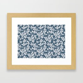Leaves Pattern 7 Framed Art Print