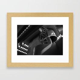 Spiral staircase Framed Art Print