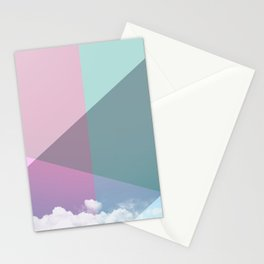 Colorful sky Stationery Cards