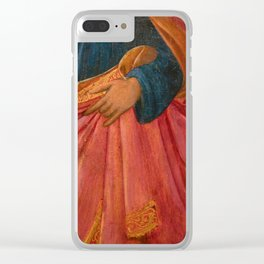 A hand of the Medici Clear iPhone Case