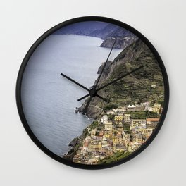 Riomaggoire, Italy  Wall Clock