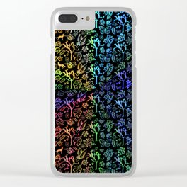Joshua Tree Arco Iris by CREYES Clear iPhone Case