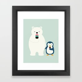 Stay Cool Framed Art Print