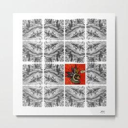 Idioteque mesopotamia Metal Print