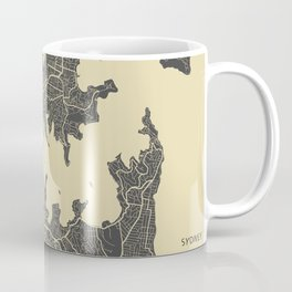 Sydney map Coffee Mug