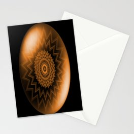Sacral Orange   Chakra Stationery Cards