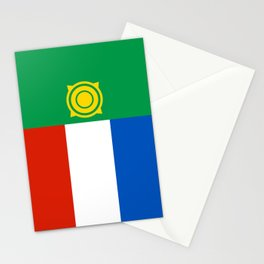khakasiya flag Stationery Cards
