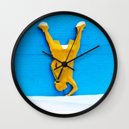 LO SQ DAZE Wall Clock