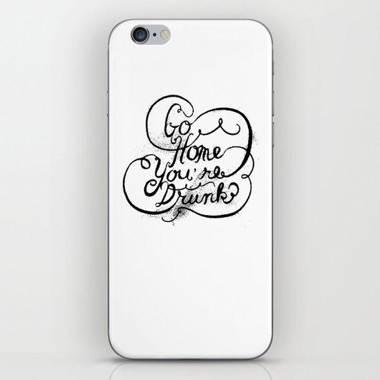GO HOME iPhone & iPod Skin