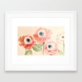 The seeds Framed Art Print