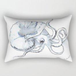 Paper Nautilus, Argonaut Rectangular Pillow