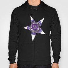 Blue/Purple Superstar Mandala Star Hoody