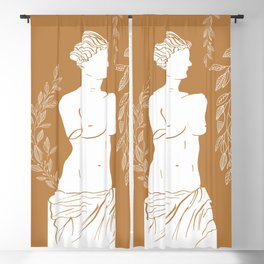 Venus De Milo Blackout Curtain