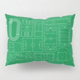 Sport Courts Pattern Art Pillow Sham