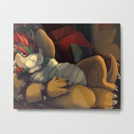Bowser Day Promotional Metal Print