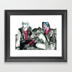 In Space! Framed Art Print