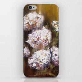 White Roses iPhone Skin