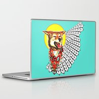 coyote Laptop & iPad Skins featuring Coyote by Renaissance Youth