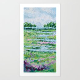 Marsh Romance No. 2 Art Print