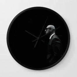 Shadow Man Wall Clock