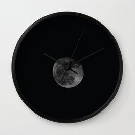 Moon4 Wall Clock