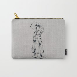 Splaaash Series - Kimono Girl Ink Carry-All Pouch