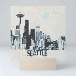Seattle light Mini Art Print