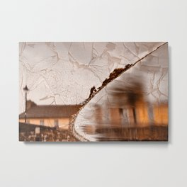 Stream of Peeling Dreams Metal Print