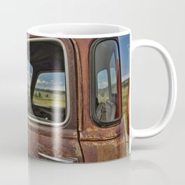Old Tanker Cab Coffee Mug