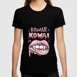 Kawaii Kowai I Pastel Goth I Menhera design T-shirt