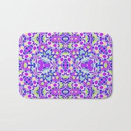 Arabesque kaleidoscopic Mosaic G514 Bath Mat