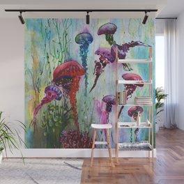 jolly jellyfish Wall Mural