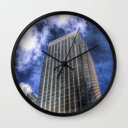 Citi Bank London Wall Clock
