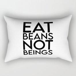 Vegan, cruelty free, organic, Funny vegan girl, vegetarian, plant based, animal rights Rectangular Pillow