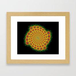 Fractal Mandala 2 Framed Art Print
