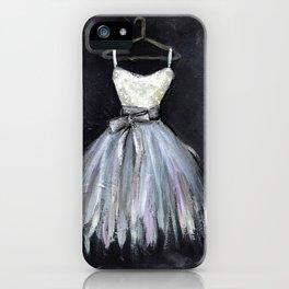 Ballerina Dress 2 - Painting iPhone Case