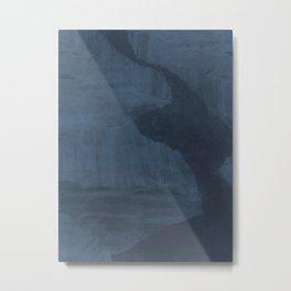 Glacier / Artic Night Metal Print