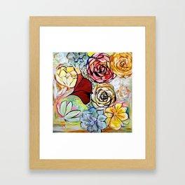 Southern California Garden Framed Art Print