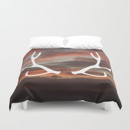 The stag of the North Duvet Cover