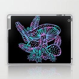 Glowing Mushrooms Laptop & iPad Skin