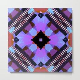 Kaleidoscope Pattern 1 Metal Print
